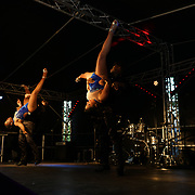 London, UK. 4th August 2017. Cali Swing UK perform at the Plaza Latina Festival. A Latin summer festival party with live music, delicious food & drinks. The vibrant of Latin culture and colourful at Nursery Row Park, East Street.