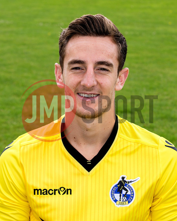 Tom Lockyer of Bristol Rovers - Mandatory by-line: Robbie Stephenson/JMP - 04/08/2016 - FOOTBALL - The Lawns Training Ground - Bristol, England - Bristol Rovers Head Shots