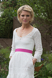 © Licensed to London News Pictures. 20/05/2013. London, England. Actress Emilia Fox. Celebrities at Press Day Monday of the RHS Chelsea Flower Show. Photo credit: Bettina Strenske/LNP