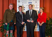 The winners of the 2015 Scottish Border Business Award for Micro Business of the Year for Environmental Innovation:Jim Shanks of JG Shanks & Son, Standhill Farm, Hawick.<br />