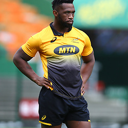 Siya Kolisi (captain) of South Africa during the South African - Springbok Captain's Run at DHL Newlands Stadium. Cape Town.South Africa. 22,06,2018 23,06,2018 Photo by (Steve Haag JMP)