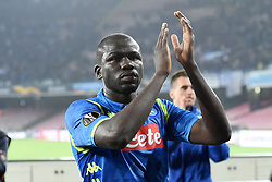 March 7, 2019 - Naples, Naples, Italy - Kalidou Koulibaly of SSC Napoli during the UEFA Europa League match between SSC Napoli and RB Salzburg at Stadio San Paolo Naples Italy on 7 March 2019. (Credit Image: © Franco Romano/NurPhoto via ZUMA Press)