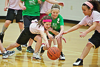 The Mills' game against Bloom Salon at Atlas Elementary. Rheana was knocked down hard twice and Hailey hurt her back in one incident and then bang her head on the floor in another. Tough game, but Rheana's team won 8-4.