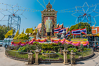 king of Thailand memorial Ayutthaya Bangkok Thailand