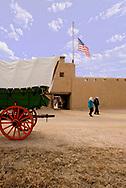 Bents Old Fort National Historic Site, La Junta, Colorado, Tourist, Conestoga Wagon