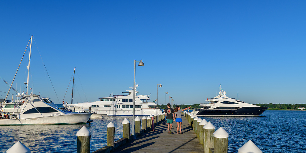 Boats, Mitchell Park and Marina, Greenport, New York