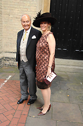 HRH the COUNTESS OF WESSEX and NED RYAN godfather of the bride at the wedding of Chloe Delevingne to Louis Buckworth at St.Paul's Knightsbridge, London on 7th September 2007.<br /><br />NON EXCLUSIVE - WORLD RIGHTS