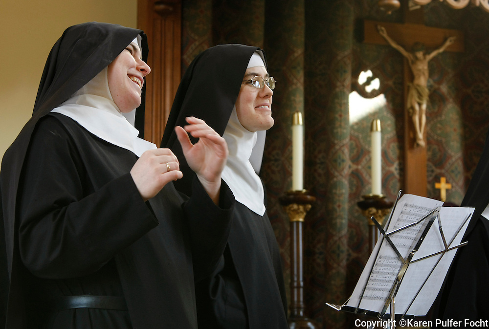 The Benedictines of Mary, Queen of the Apostles are cloistered nuns who have had four albums top the charts. They are releasing their latest album, Adoration at Ephesus, April 26, 2016.  The nuns recorded this album themselves, in their new chapel, in the quiet hills in Missouri, where they farm, make vestments and spend their days in silence and prayer.