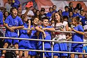 DESCRIZIONE : Beko Supercoppa 2015 Finale Grissin Bon Reggio Emilia - Olimpia EA7 Emporio Armani Milano<br /> GIOCATORE : Tifosi Pubblico Spettatori<br /> CATEGORIA : Tifosi Pubblico Spettatori<br /> SQUADRA : RCS<br /> EVENTO : Beko Supercoppa 2015<br /> GARA : Grissin Bon Reggio Emilia - Olimpia EA7 Emporio Armani Milano<br /> DATA : 27/09/2015<br /> SPORT : Pallacanestro <br /> AUTORE : Agenzia Ciamillo-Castoria/L.Canu