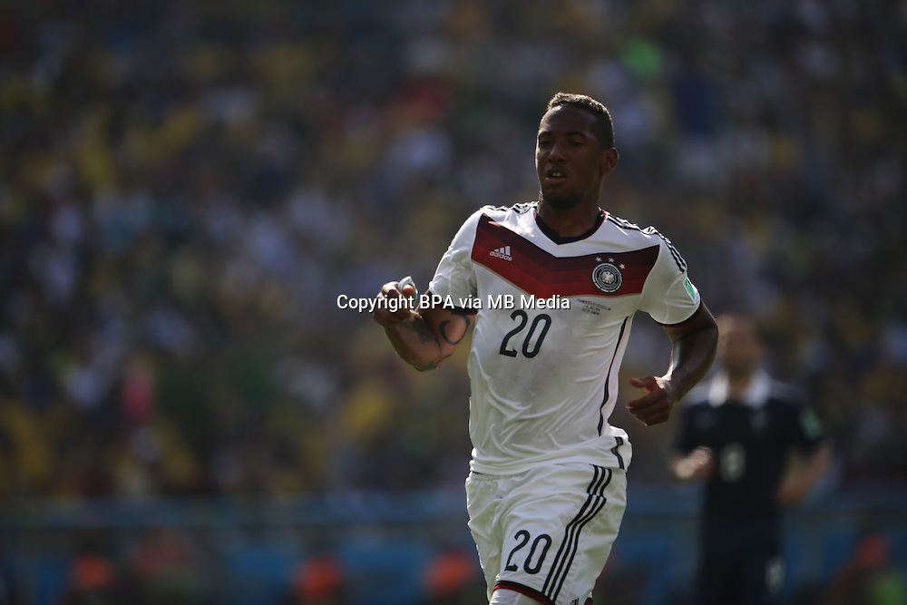 Jerome Boateng.  France v Germany, quarter-final. FIFA World Cup Brazil 2014. 4 July 2014