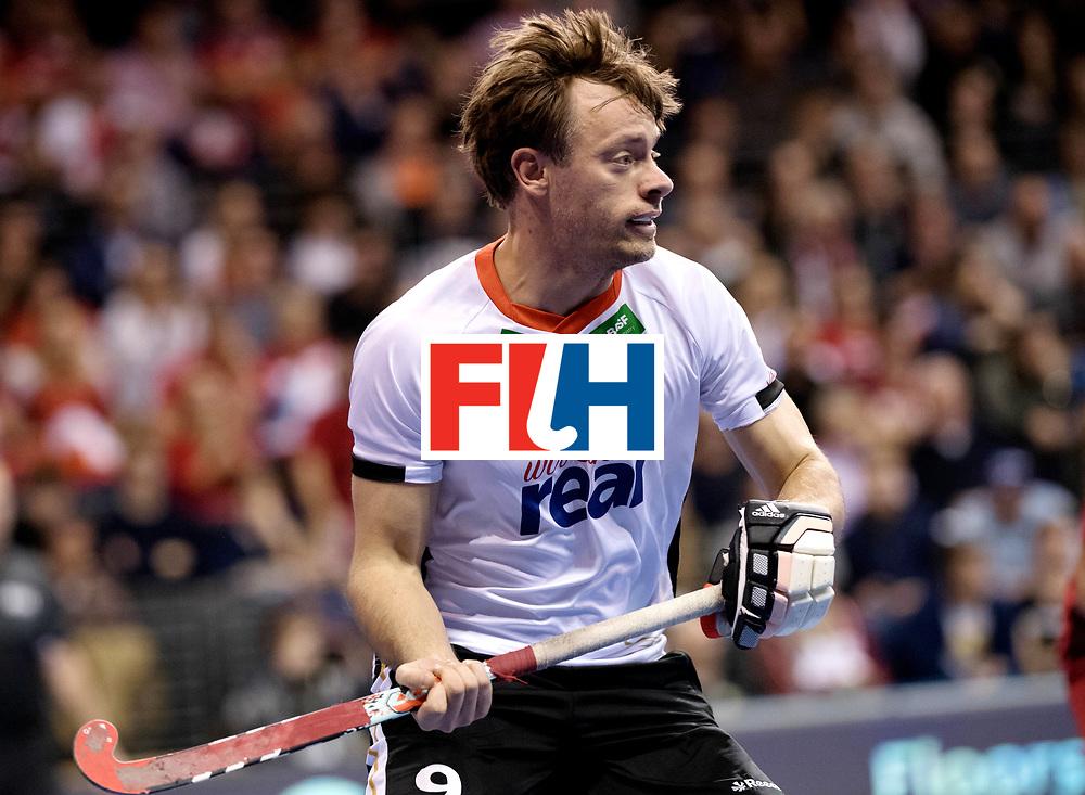 BERLIN - Indoor Hockey World Cup<br /> Quarterfinal 3: Germany - Switzerland<br /> foto: Alexander Otte.<br /> WORLDSPORTPICS COPYRIGHT FRANK UIJLENBROEK