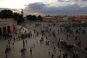 Djemaa el Fna, Marrakesh (Main square), Morocco