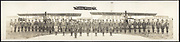 World War I Panoramas <br /> <br /> These long panoramic photographs show U. S. military personnel and camps, patriotic parades, and European battlefields and cemeteries related to WWI.<br /> <br /> PHOTO SHOWS: Flying officers, Love Field, Dallas, Tex, 1918.<br /> &copy;Library of Congress/Exclusivepix Media