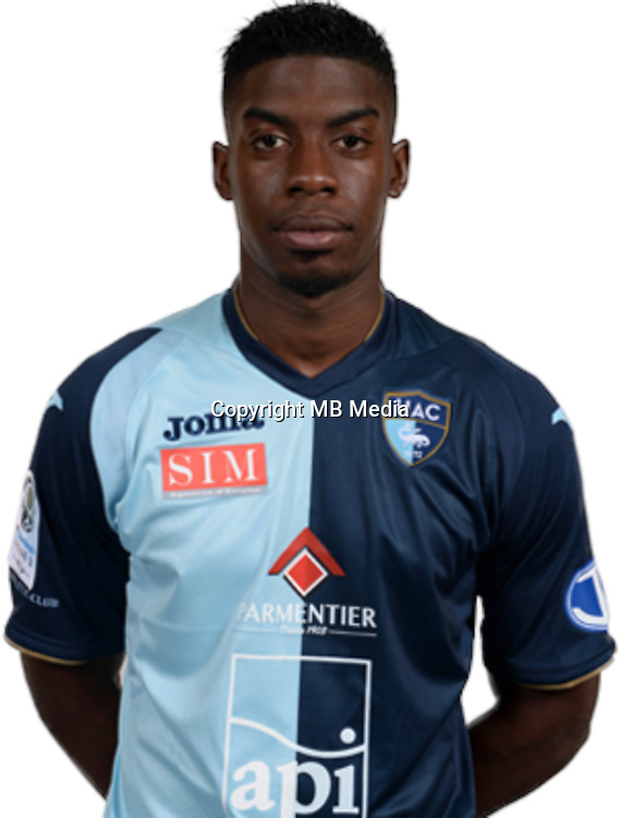 DEMBELE Mana during photocall of Le Havre AC for new season of Ligue 2 on September 29th 2016<br /> Photo : Lelaidier / Hac / Icon Sport