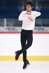 03.12.2015, Dom Sportova, Zagreb, CRO, ISU, Golden Spin of Zagreb, Kurzprogramm Herren, im Bild Maurizio Zandron, Italy // during the 48th Golden Spin of Zagreb 2015 Male Short Program of ISU at the Dom Sportova in Zagreb, Croatia on 2015/12/03. EXPA Pictures © 2015, PhotoCredit: EXPA/ Pixsell/ Slavko Midzor<br /> <br /> *****ATTENTION - for AUT, SLO, SUI, SWE, ITA, FRA only*****