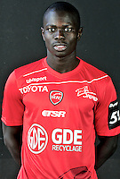 Mouhamadou DAO - 06.10.2015 - Photo officielle Valenciennes - Ligue 2<br /> Photo : Francois Lo Presti / Icon Sport