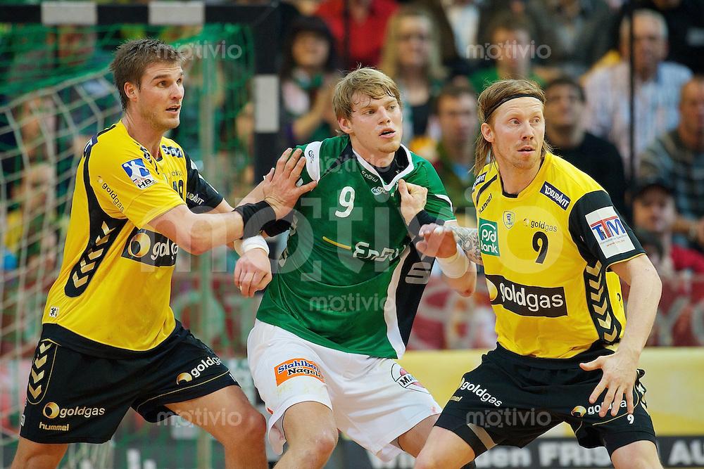 v.l.n.r. Bjarte Myrhol (RNL), Manuel Spaeth (FAG), Boerge Lund (RNL)
