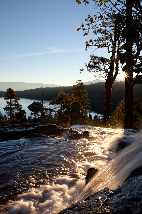 """Emerald Bay Sunrise 7"" - This sunrise was photographed from Eagle Falls above Emerald Bay, Lake Tahoe."