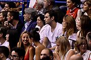 DESCRIZIONE : Campionato 2013/14 Finale Gara 7 Olimpia EA7 Emporio Armani Milano - Montepaschi Mens Sana Siena Scudetto<br /> GIOCATORE : Stefano Gentile<br /> CATEGORIA : Tifosi VIP<br /> SQUADRA : Olimpia EA7 Emporio Armani Milano<br /> EVENTO : LegaBasket Serie A Beko Playoff 2013/2014<br /> GARA : Olimpia EA7 Emporio Armani Milano - Montepaschi Mens Sana Siena<br /> DATA : 27/06/2014<br /> SPORT : Pallacanestro <br /> AUTORE : Agenzia Ciamillo-Castoria /GiulioCiamillo<br /> Galleria : LegaBasket Serie A Beko Playoff 2013/2014<br /> FOTONOTIZIA : Campionato 2013/14 Finale GARA 7 Olimpia EA7 Emporio Armani Milano - Montepaschi Mens Sana Siena<br /> Predefinita :