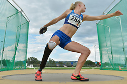 05/08/2017; Heims, Jessica, T44, USA at 2017 World Para Athletics Junior Championships, Nottwil, Switzerland
