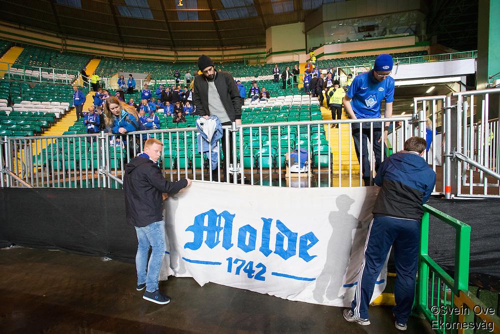 UEFA Europa League 2015: Celtic - Molde. Europa League kampen mellom Celtic og Molde på Celtic Park.