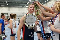 20190424 NED: Sliedrecht Sport - VC Sneek: Sliedrecht<br /> Sliedrecht Sport Nederlands Kampioen Volleybal Seizoen 2018 - 2019, Flore Gravesteijn (14) of Sliedrecht Sport <br /> ©2019-FotoHoogendoorn.nl / Pim Waslander