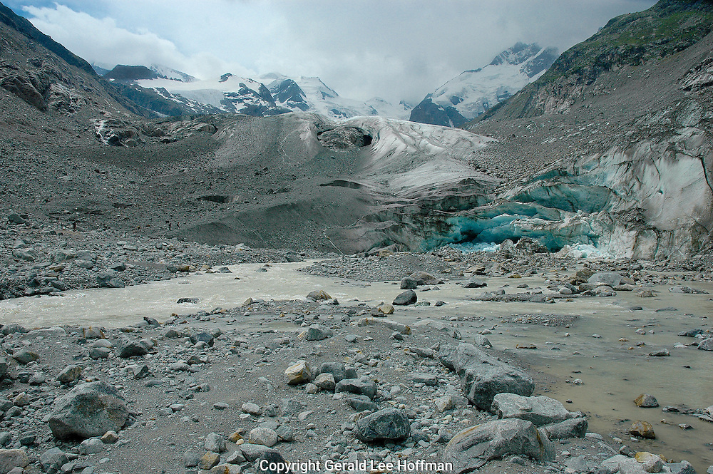 Last views of the Morteratsch Glacier before time and climate change take their toll.