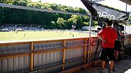FODBOLD: TV-optagelse under kampen i NordicBet Ligaen mellem FC Helsingør og Næstved Boldklub den 27. maj 2017 på Helsingør Stadion. Foto: Jane Birch / ClausBirchDK