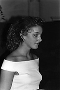 Sophie de Swarzberg-Gunther at Hurlingham Club Drinks 8/9/1987 ONE TIME USE ONLY - DO NOT ARCHIVE  © Copyright Photograph by Dafydd Jones 66 Stockwell Park Rd. London SW9 0DA Tel 020 7733 0108 www.dafjones.com