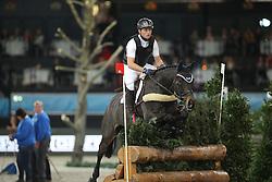 Jung Michael, (GER), Fischer Rocana FST<br /> Indoor Derby<br /> Stuttgart - German Masters 2015<br /> © Hippo Foto - Stefan Lafrentz