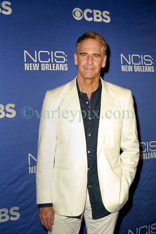17 September 2014. New Orleans, Louisiana.<br /> NCIS New Orleans. CBS Red carpet event at the WW2 Museum.<br /> Actor Scott Bakula - &quot;Dwayne Pride.&quot;<br /> Photo Credit; Charlie Varley/varleypix.com