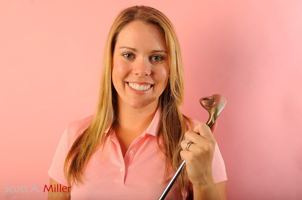 Laura Martin during a portrait shoot prior to the Symetra Tour's Florida's Natural Charity Classic at the Lake Region Yacht and Country Club on March 19, 2012 in Winter Haven, Fla. ..©2012 Scott A. Miller.