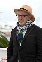 Director Elia Suleiman at It Must Be Heaven film photo call at the 72nd Cannes Film Festival, Friday 24th May 2019, Cannes, France. Photo credit: Doreen Kennedy