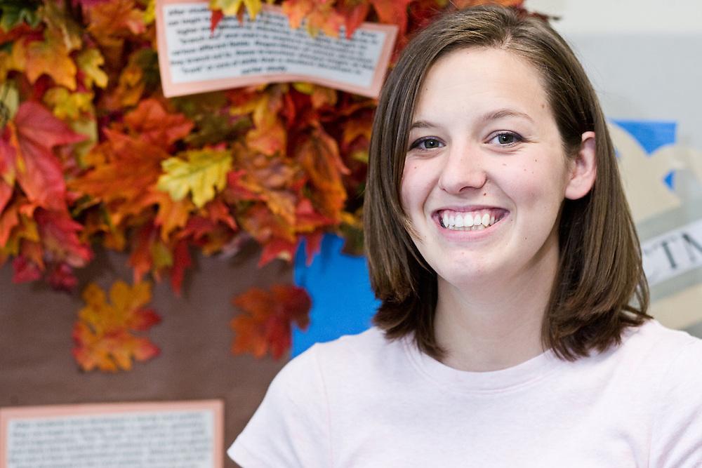 Mathematics Education Trust (MET) Scholarship winner Marissa Blewitt talks about her experinces as a Ohio University student on Tuesday, June 3, 2008.