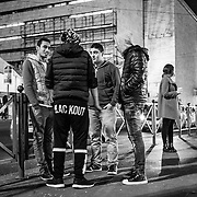 Rome - Termini Station boys, including many minors, mostly Egyptians, North Africans find themselves daily in front of the entrances of Termini Station.
