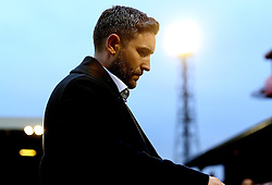 Bristol City head coach Lee Johnson looks frustrated after the draw with Barnsley - Mandatory by-line: Robbie Stephenson/JMP - 29/10/2016 - FOOTBALL - Oakwell Stadium - Barnsley, England - Barnsley v Bristol City - Sky Bet Championship