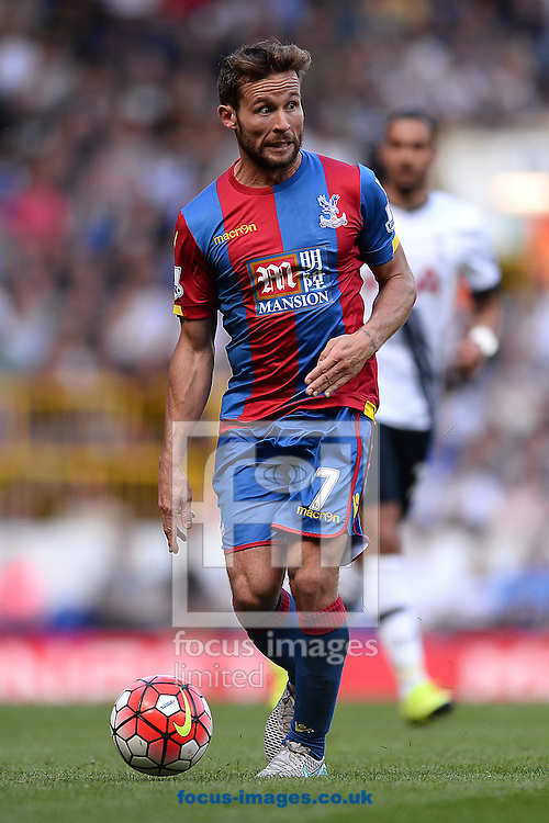 Yohan Cabaye of Crystal Palace during the Barclays Premier League match between Tottenham Hotspur and Crystal Palace at White Hart Lane, London<br /> Picture by Richard Blaxall/Focus Images Ltd +44 7853 364624<br /> 20/09/2015