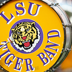 September 10, 2011; Baton Rouge, LA, USA;  The LSU Tigers Band performs prior to kickoff of a game between the LSU Tigers and the Northwestern State Demons at Tiger Stadium.  Mandatory Credit: Derick E. Hingle