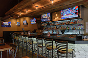 The bar at Somewhere restaurant at 1135 Bardstown Road, next to Nowhere bar. July 26, 2016