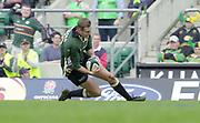 10/04/2002 - Powergen National Cup Final - Twickenham.London Irish vs Northampton..Goeff Appleford scoring his second half try..