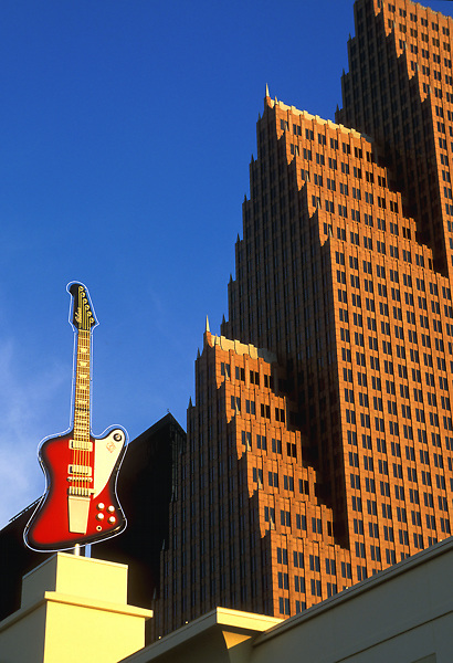 Stock photo of Nations Bank Center, formerly Republic Bank Center in Houston, Texas