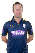 Hampshire all-rounder Sean Ervine in the 2016 Royal London One Day Cup Shirt. Hampshire CCC Headshots 2016 at the Ageas Bowl, Southampton, United Kingdom on 7 April 2016. Photo by David Vokes.