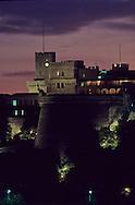 Royal palace at night. monaco   Le Palais princier la nuit  P0005219  L921121a  R150/186