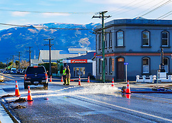 Clean up has begun following residents in Outram were evacuated after the Tairei River broke its banks following heavy rain across Otago, Dunedin, New Zealand, Sunday, July 23, 2017. Credit:SNPA / Jonathan Wagstaff  **NO ARCHIVING**
