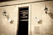 Entrance station at Les Invalides, Paris, France