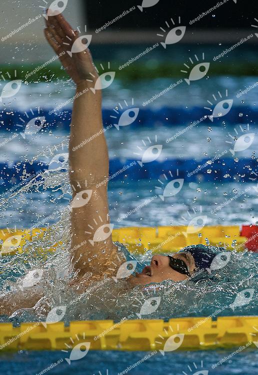 PAVONE FrancescoCentro Sportivo Esercito<br /> 400 misti uomini<br /> Campionati Italiani Assoluti Nuoto Primaverili<br /> Riccione  Italy 8 - 12/04/2013<br /> Day 02 batterie<br /> Photo Giorgio Scala/Deepbluemedia/Insidefoto