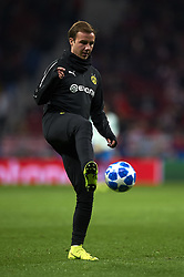 November 6, 2018 - Madrid, Spain - Mario Gotze of Borussia Dortmund during the Group A match of the UEFA Champions League between Atletico de Madrid and Borussia Dortmund at Wanda Metropolitano Stadium, Madrid on November 06 of 2018. (Credit Image: © Jose Breton/NurPhoto via ZUMA Press)