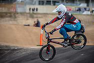 #117 (MARTINEZ Tessa) FRA at Round 3 of the 2020 UCI BMX Supercross World Cup in Bathurst, Australia.