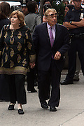 Jerry Stillers arrives at the Walter Cronkite funeral at The St. Bartholomew Church on July 23, 2009 in New York City
