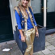 NLD/Amsterdam/20101018 - Lunch 25 jarig bestaan blad Beau Monde, Nikkie Plessen